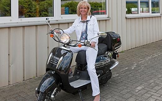 Elektroroller Claudia Bierbaum